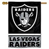 WinCraft Las Vegas Raiders Double Sided House Banner Flag