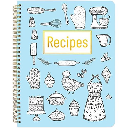 Recipe Books Blank Recipe Books to Write in Your Own Recipes Blank Cookbook 8.5' x 11'