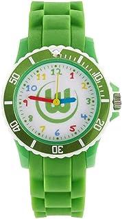 VfL Wolfsburg Kinderuhr - Farbenspiel - Armbanduhr, Kinder Uhr, Watch L