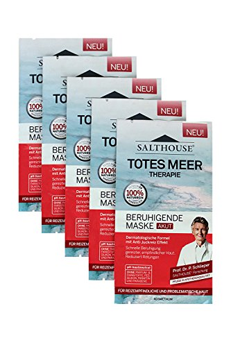 Salth Ouse Totes Meer Therapie pflegend Maske 2x ML 5er Pack