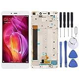 GKE Pantalla-LCD y digitalizador Asamblea Completa con el capítulo for Xiaomi redmi Nota 4 (Negro) Fácil (Color : White)