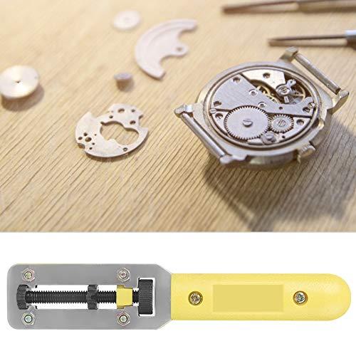 Juego de herramientas para quitar la espalda del reloj, abridor de la caja del reloj, llave del abridor de la cubierta de la caja trasera del reloj, 2 garras, modelo B, herramienta de reparación unive