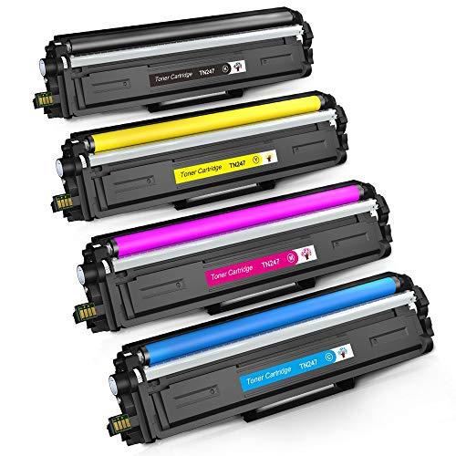 GREENSKY Cartucho de Tóner Compatible Repuesto para Brother TN247 TN243 para HL-L3210CW HL-L3230CDW HL-L3270CDW MFC-L3710CW MFC-L3730CDN MFC-L3750CDW MFC-L3770CDW DCP-L3510CDW DCP-L3550CDW(4 Paquete)