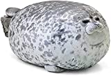 QINUAN Chubby Blob Seal Pillow Soft Stuffed Animals Cotton Animal Plush Pillow Toy Cuddly Gift for Boys Girls (23.6 inches)