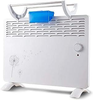 MEI XU Calentadores eléctricos 2000W Calentador de convección Calentadores eléctricos domésticos Radiadores 3 Configuraciones de energía Silencio Vertical Ahorro de energía Blanco @