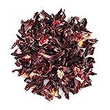 Karkadè Fiori Di Ibisco Biologico - Classico Tè Rosa Dell'abissinia Agrodolce - Hibiscus Flower Bio 100g