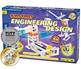 Kids First Engineering Design Physics Lab Science Kit   Parents' Choice Gold Award Winner   Toy of The Year Award Finalist   STEM Experiments