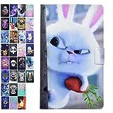 Ancase Housse Coque pour Tablette Samsung Galaxy Tab 3 10.1 Pouces GT-P5210 P5200 P5220 Motif à...