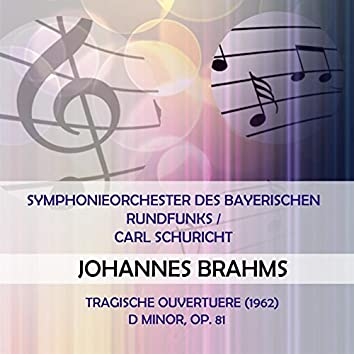 Symphonieorchester des Bayerischen Rundfunks / Carl Schuricht play: Johannes Brahms: Tragische Ouvertuere (1962) D Minor, Op. 81