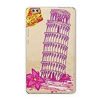 igcase dtab compact d-02k docomo dタブ 用 タブレット ケース タブレット カバー TPU ソフトケース 013604 ショッピング 女の子 ピンク