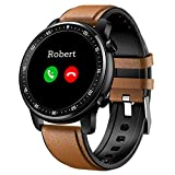 SPOREX S2 Bluetooth Call Music Smart Watch for Android Phones & iPhone Compatible, Fitness Tracker, Blood Pressure Heart Rate Monitor, Apple iOS & Samsung Rugged Sport smartwatches for Men & Women
