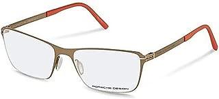 保时捷设计 Rx 眼镜 - P8263 B - 青铜色-棕色/橙色 (54-17-140)