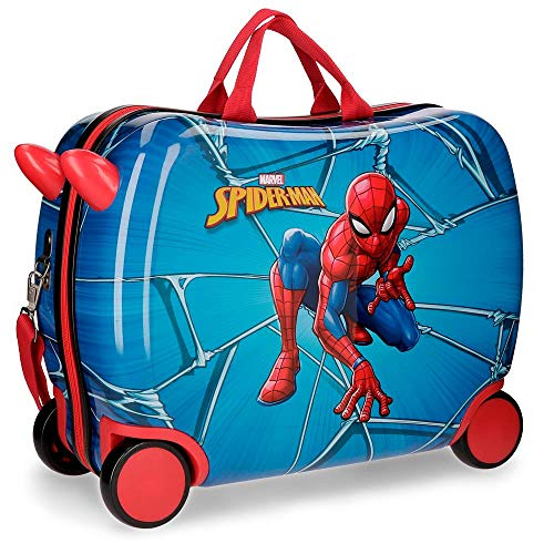 Maleta correpasillos Spiderman Black