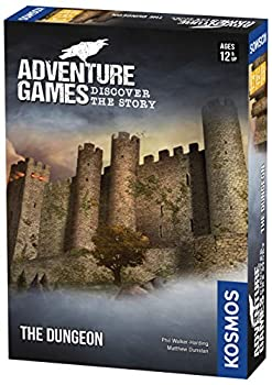Adventure Games  The Dungeon - A Kosmos Game from Thames & Kosmos   Collaborative Replayable Storytelling Gaming Experience for 2 To 4 Players Ages 12+