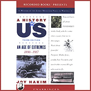 An Age of Extremes, 1880-1917, A History of US, Book 8  cover art