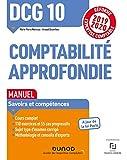 DCG 10 Comptabilité approfondie - Manuel - Réforme 2019-2020 - Réforme Expertise comptable 2019-2020 (2019-2020)