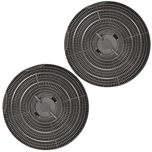 Spares2go Tipo 30carbono carbón ventilación filtro para Whirlpool campanas extractoras (Pack de 2)