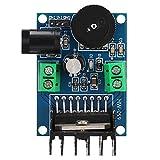 Socobeta Módulo Amplificador TDA7297 Módulo Amplificador de Audio de Doble Canal 15W + 15W Compatible con Altavoces de 4-8 Ohm 10-50W