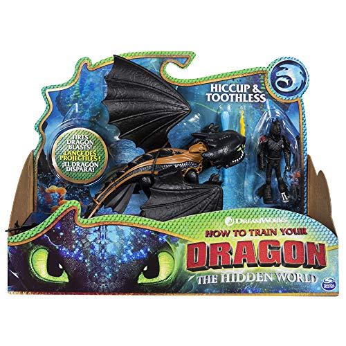 Cómo Entrenar a tu Dragón Dragón Desdentado y Vikingo Hipo (BIZAK 61926547)