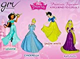 Disney Princess 4 in 1 Figurines Set (Multicolour)