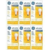GE 97494 50/100/150 Watt 3-Way Light Bulb...