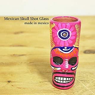 RUG&PIECE Mexican skull メキシカンスカル ショットグラス メキシコ製 (int-2208)