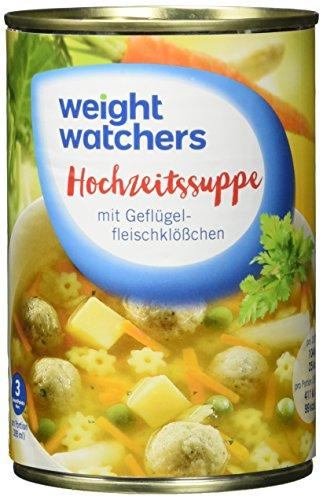 Weight Watchers Hochzeitssuppe, Dose, 6er Pack (6 x 395 ml)