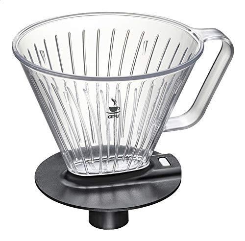 GEFU 16001 Kaffeefilter Fabiano - Filteraufsatz für die Kaffeekanne und Thermoskanne - Passend für Filter Gr. 4