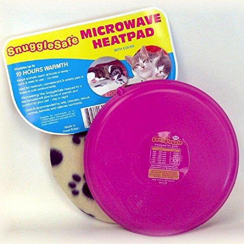 Snugglesafe Coussin chauffant pour chiens chats et petits animaux de compagnie - Passe au micro-ondes
