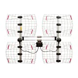 Antennas Direct 8-Element Bowtie TV Antenna, 70 Miles Range,...