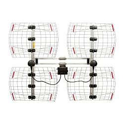 cheap Antenna Direct 8 Element TV Bowtie Antenna, 70 Mile Range, Multidirectional, Indoors, Attic, …