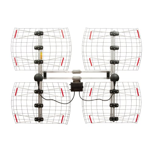 Antennas Direct 8-Element Bowtie TV Antenna, 70 Miles Range, Multi-directional, Indoor, Attic,...