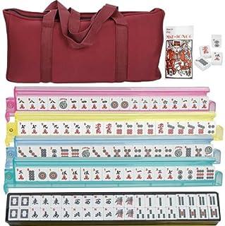 Mahjong Full 166 Set Collectible Western Mah Jongg Tiles...