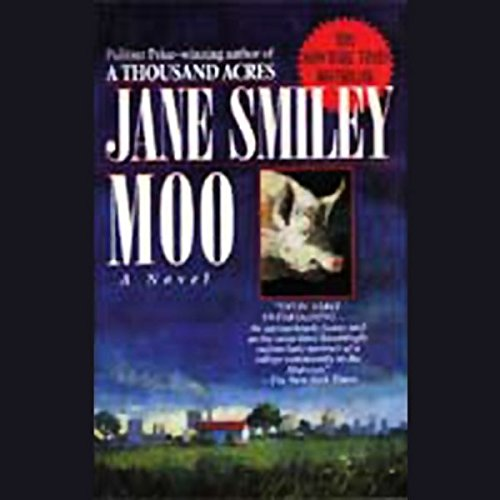 Moo audiobook cover art