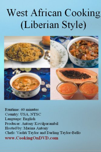 West African cooking (Liberian style)