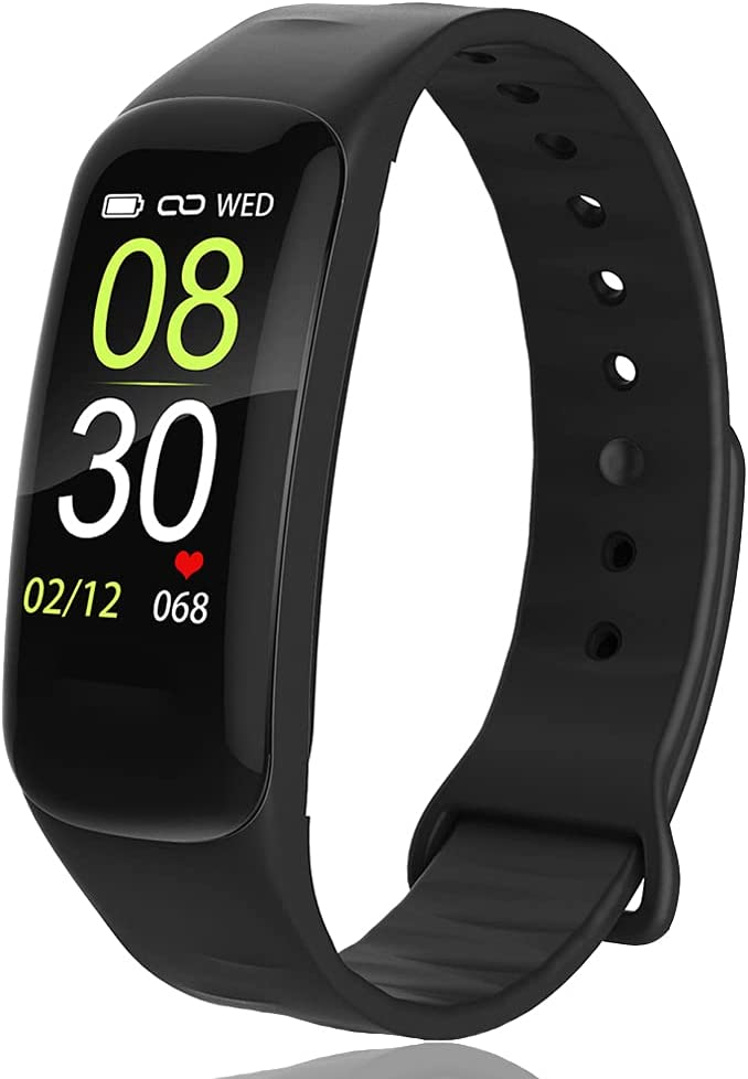 AUBEINSON Fitness Tracker,Activity Tracker Watch with Body Temperature Blood Pressure Heart Rate Monitor,Smart Watch with Steps Watch,Step Calorie Counter Pedometer Watch for Women Men