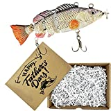 UFISH Fishing Gift for Man, Robotic Fishing Lure, Personalized Fishing Gift for Men Dad Husband Boyfriend, Perfect Fathers Day Present.