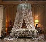 Digead Zanzariera da letto Princess, Zanzariera per sospensione, Evitare l'ingresso di zanzare -...