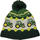 John Deere Boys' Winter Cap, Green, Toddler