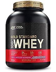Optimum Nutrition Optimale voeding goud standaard wei-eiwit poeder 55