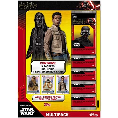 Topps Star Wars - El Ascenso de Skywalker Multi Pack 6 Sobres (30 Cartas)