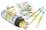 Gesundheitstest für 11 Indikatoren mit Funktionskontrolle - 100 Urin Teststreifen mit Referenzfarbkarte
