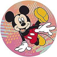 Dekora-114378 Decoracion Tartas de Cumpleaños Infantiles en Disco de Oblea de Disney Mickey Mouse-20 cm (114378)