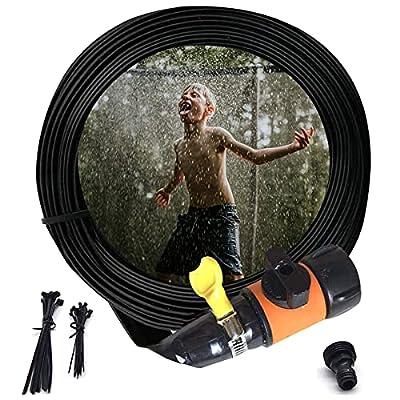 Amazon - 70% Off on Orange Trampoline Sprinklers for Kids, Outdoor Water Play Sprinklers