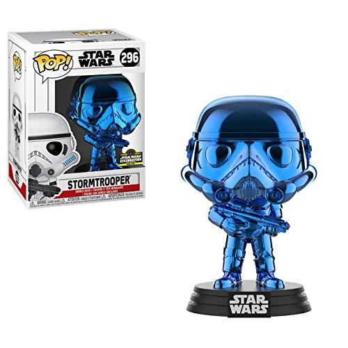 Star Wars Funko POP Celebration Chicago Exclusive Blue Stormtrooper #296 image