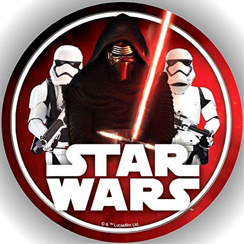 Fondant Tortenaufleger Tortenbild Geburtstag Star Wars AMA3