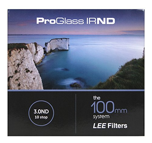 Lee Filters 100mm ProGlass IRND ND-Filter für 100mm-Filterhalter - 1000x / ND 3,0 / +10 Blenden