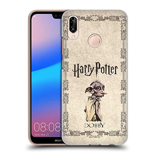 Head Case Designs Officiel Harry Potter Dobby House Elf Creature Chamber of Secrets II Coque Dure pour l'arrière Compatible avec Huawei P20 Lite
