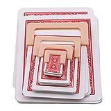 Ogquaton Accessoires magiques de magie de rétrécissement de carte rouge pour des adultes d'enfants commodes et pratiques