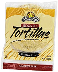 Food for Life, Wheat-Free Brown Rice Tortilla, 12 Oz